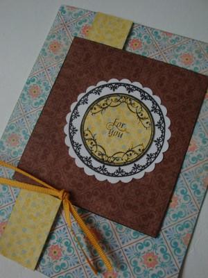 Sara Naumann blog Create & Craft stamped card