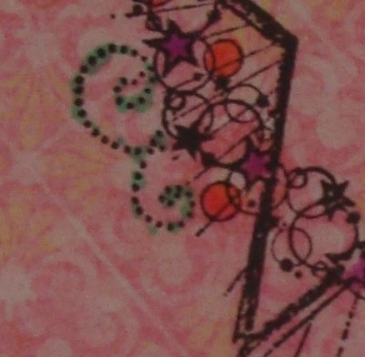 Sara Naumann blog Create & Craft stamped card demo