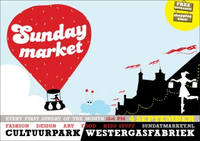 Sara Naumann blog Sunday Market flyer