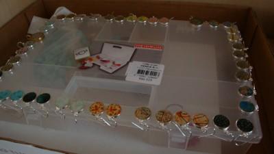 Sara Naumann blog Ice Resin earrings