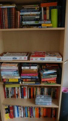 Sara Naumann blog shelves Ice Resin pieces curing