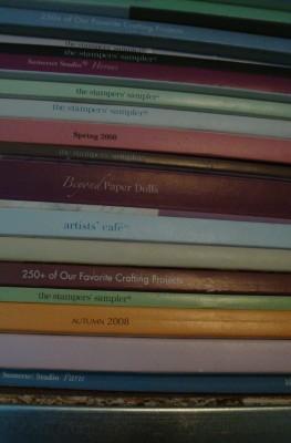 Sara Naumann blog magazine pile