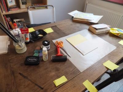 Sara Naumann blog online class workshop table