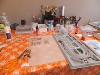 Sara Naumann blog Narrative Jewelry kits in progress