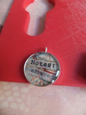Sara Naumann blog Notes necklace