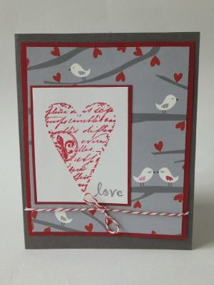 Sara Naumann blog Valentine card