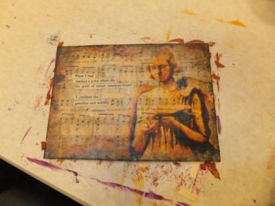 Sara Naumann blog Art & Soul Lazertran class student pix 7