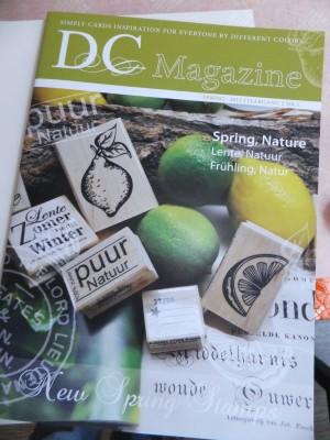 Sara Naumann blog stamp show Different Colors magazine