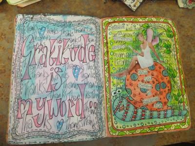 Sara Naumann blog Dyan Reaveley art journals