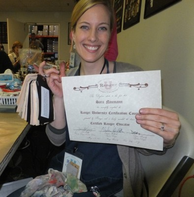 Sara Naumann blog diploma Ranger U