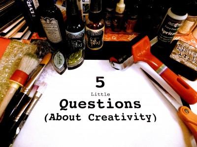 sara Naumann blog Five Little Questions