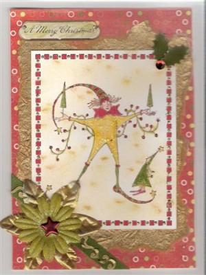 Sara Naumann blog Robin Carr Christmas card