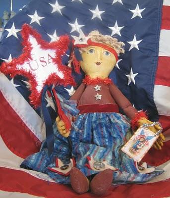 Sara Naumann blog Robin Carr USA doll