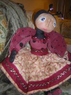 Sara Naumann blog Robin Carr ladybug doll