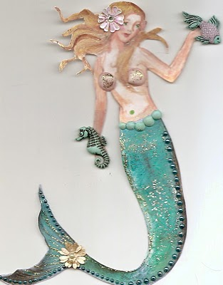 Sara Naumann blog Robin Carr mermaid