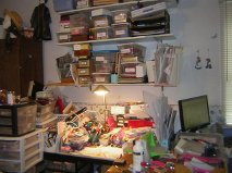 Sara Naumann blog Robin Carr work space