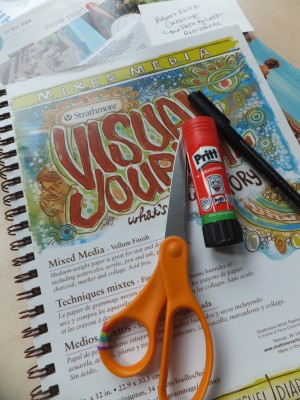 Sara Naumann blog Art Journaling 1