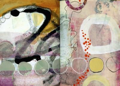 Sara Naumann blog Jane Davies scribble page spread 3