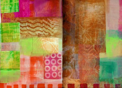 Sara Naumann blog Jane Davies scribble page spread 5a