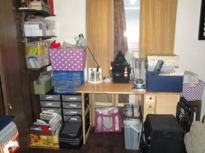 Sara Naumann blog Janet scrap desk