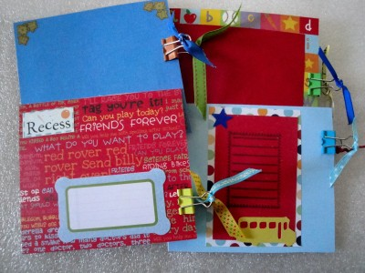 Sara Naumann blog Janet scrapbook 2