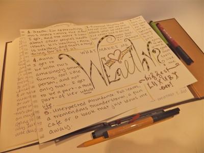 Sara Naumann blog art journal