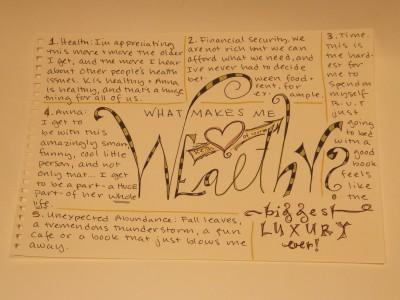 Sara Naumann blog art journal page
