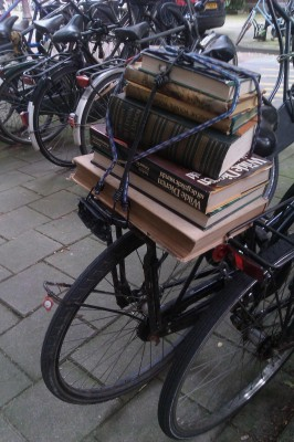 Sara Naumann blog bike and books