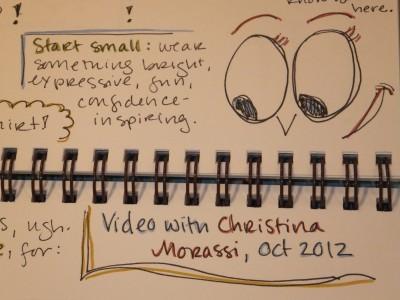 Sara Naumann blog eyes art journaling