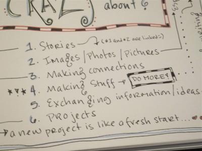 Sara Naumann blog list close up