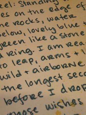 Sara Naumann blog art journaling lettering