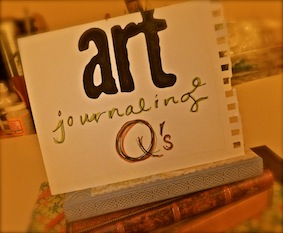Sara Naumann blog art journaling q's