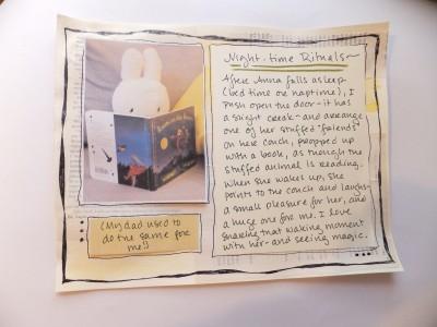 Sara Naumann blog art journaling reading
