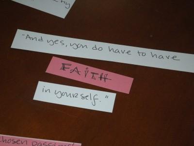 Sara Naumann blog quote art journaling online class