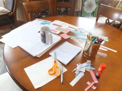 Sara Naumann blog dining room table online class