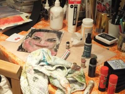 Sara Naumann blog Art Journaling e course