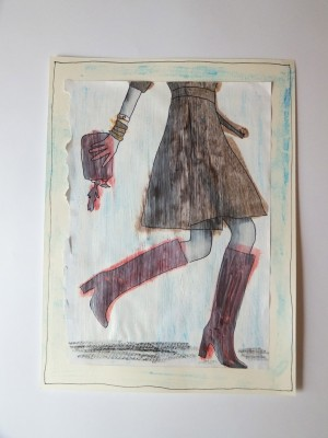 Sara Naumann blog art journaling