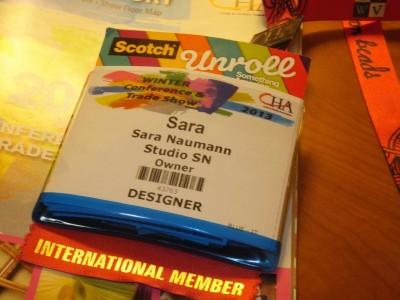 CHA badge Sara Naumann