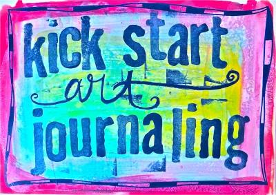 Kick Start Art Journaling