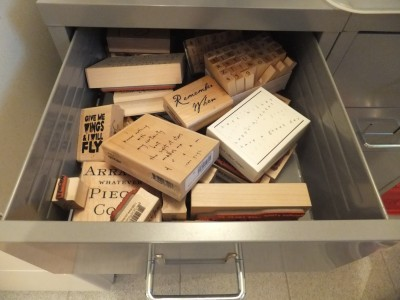 Sara Naumann blog mounted stamp storage