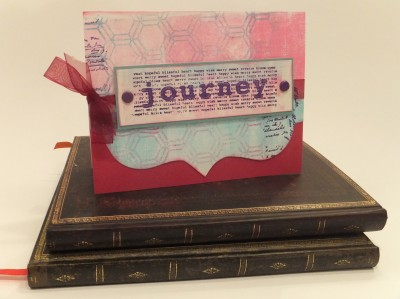Sara Naumann blog journey card