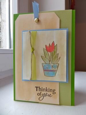 Sara Naumann blog peel off card