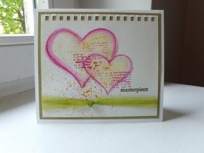 Sara Naumann blog Studio SN Inktense Pencils heart project