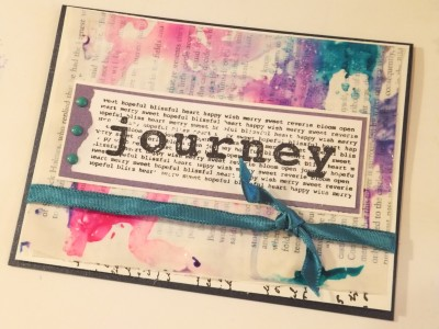 Sara Naumann blog craft attitude dylusions