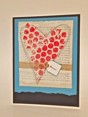 Sara Naumann blog bubble wrap heart