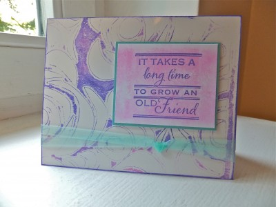 Sara Naumann Studio SN blog reverse stencil card