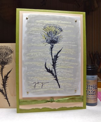 Sara Naumann blog paper crafter crayon card