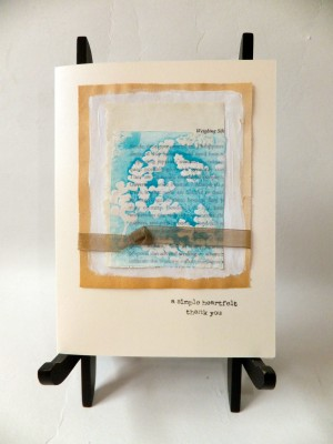 Sara Naumann Lazertran Stamping & Collage workshop