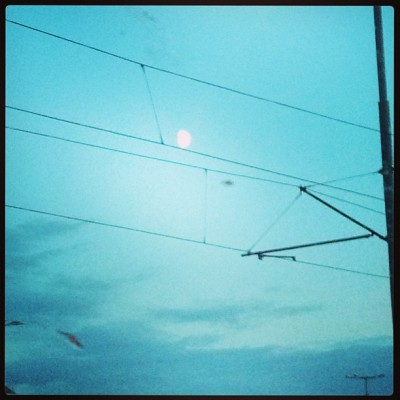 Sara Naumann photo blog Photo Friday Moon over gdansk