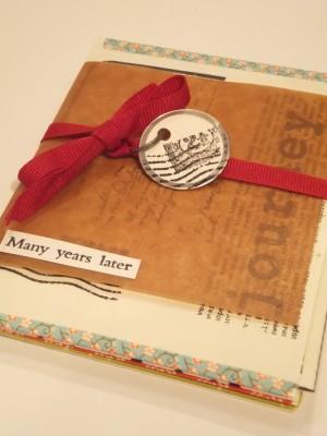 Sara Naumann blog Eclectica envelope book
